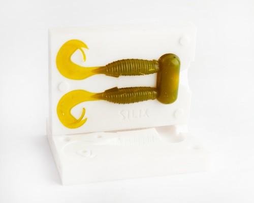 SILIX Flapper Grub 2 '' (50mm)