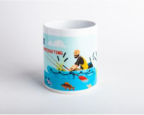 Чашка с лодкой
