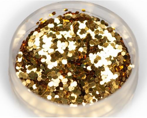 Блестка золото, 1 мм
