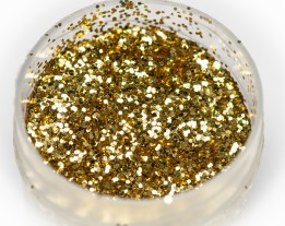 "Sequins ""gold"" heat-resistant, 0.5 mm"