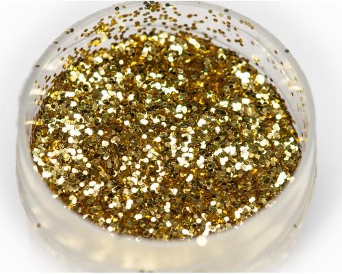 """Блестка """"золото"""" термостойкая, 0,5 мм"""