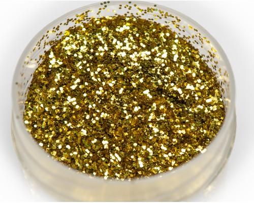 "Sequin ""gold"" 0.4 mm"