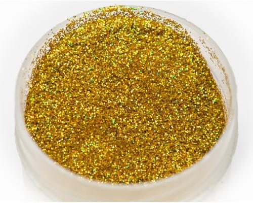Блестка золото голографика 0,2 мм