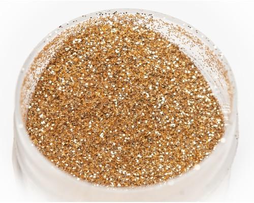 Блестка темное золото 0,2 мм