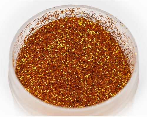 Sequins red gold 0.2mm
