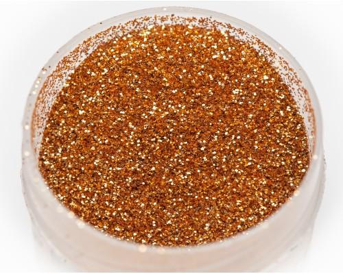 """Sequins """"bronze"""" heat-resistant, 0.2 mm"""