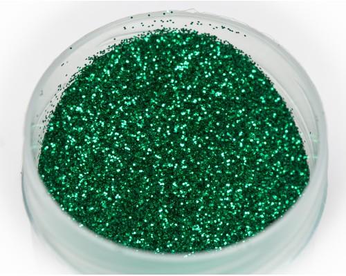 Блестка зеленая термостойкая, 0,2 мм