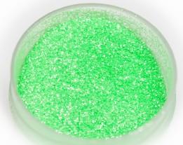 УФ блестка зелёная термостойкая, 0,2 мм