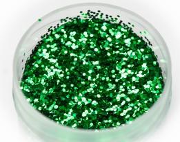 "Sequins ""Green"" 0.6 mm"